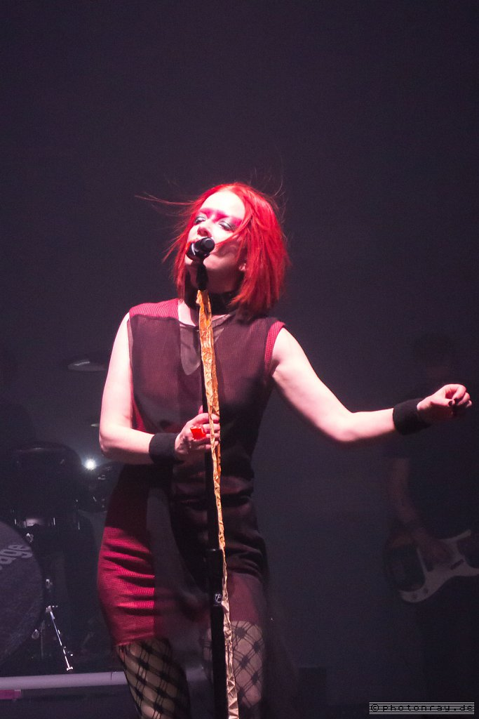 Shirley Manson/Garbage. Rockhal, Belval (Luxembourg). 22.9.2018.